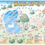榛名湖マップJPEG画像