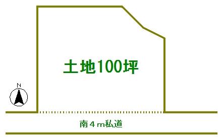 片品村土地125万円