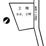 池田邸土地区画図