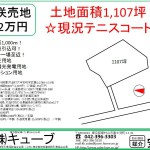 花咲332万円販売図